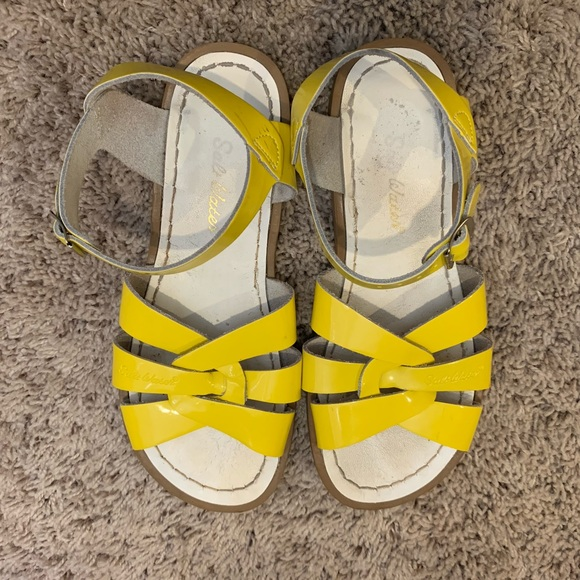 c444510cb613 salt water sandals womens yellow